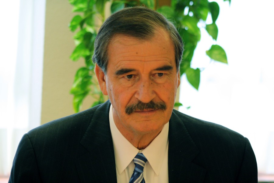 Coloquio con Vicente Fox