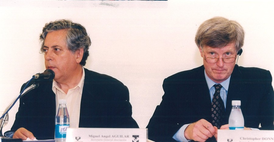 Miguel Ángel Aguilar y Christopher Donnelly